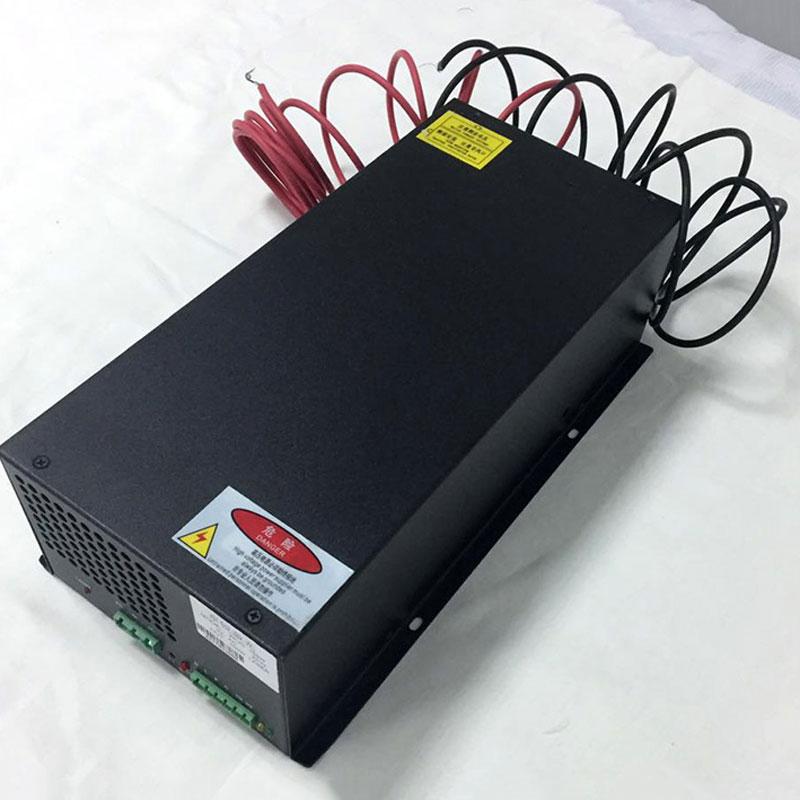 40W CO2 fuente de alimentación láser 220V cortador de grabado máquina para grabado de tubos láser