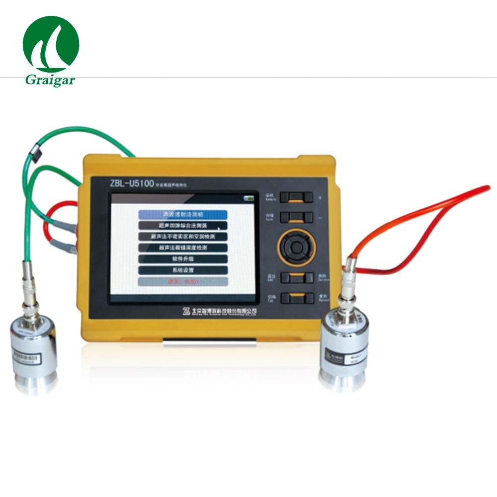Detector ultrasónico de ZBL-U5200 que prueba las propiedades mecánicas de materiales no metálicos como el reconocimiento geológico, Roca, hormigón