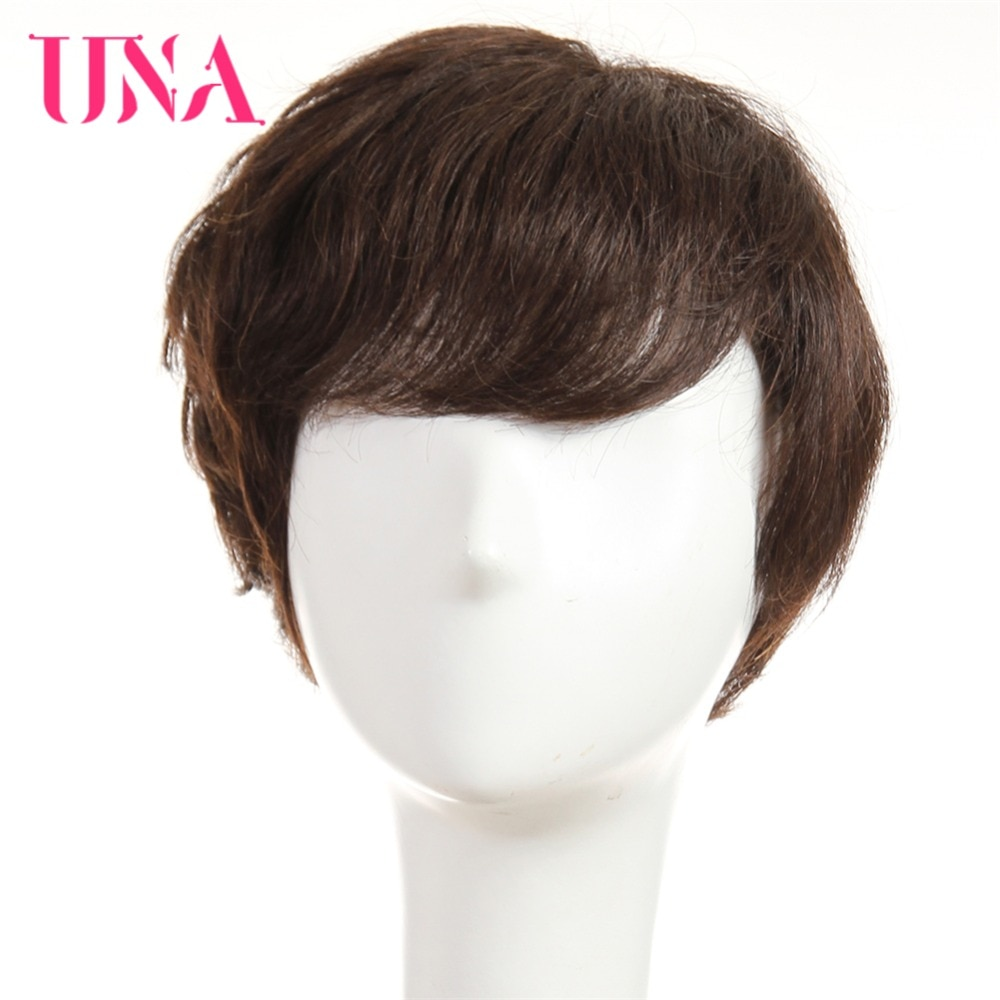 UNA Human Hair Wigs For Women Remy 120% Density Brazilian Straight 6 6370