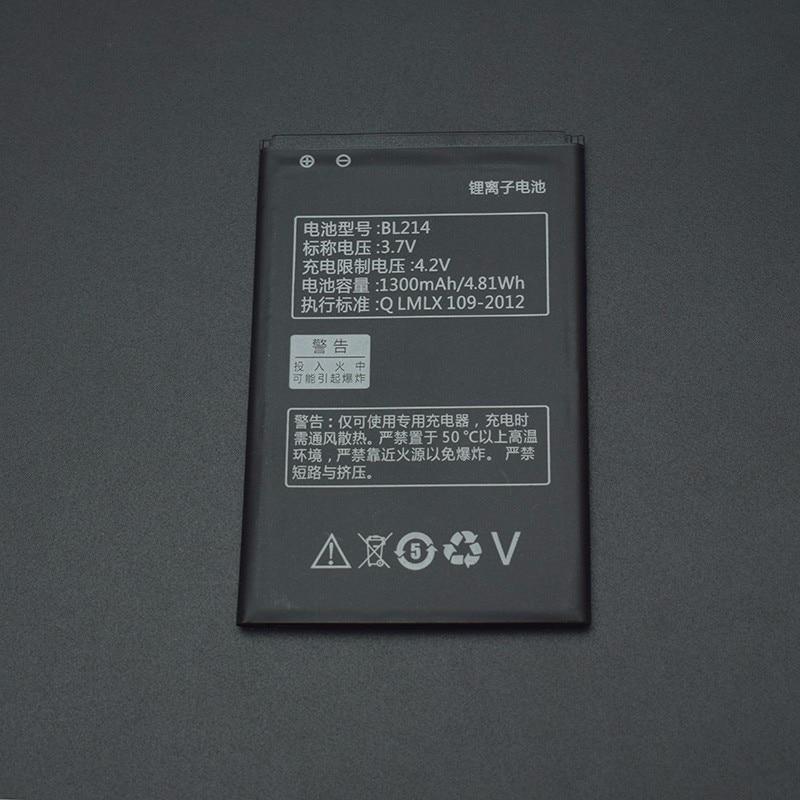 Für Lenovo A208t Batterie Hohe Qualität 1300mAh BL214 Batterie Ersatz für Lenovo A208t A218t A269 A305E