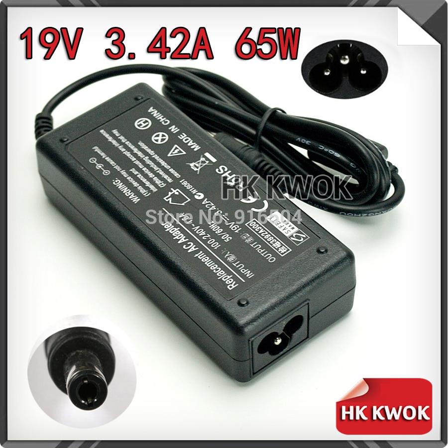 19V 3.42A 5,5mm * 2,5mm cargador/adaptador de CA portátil para toshiba PA3467U-1ACA A100 A105 A200 L20 M 105 U305 portátil fuente de alimentación