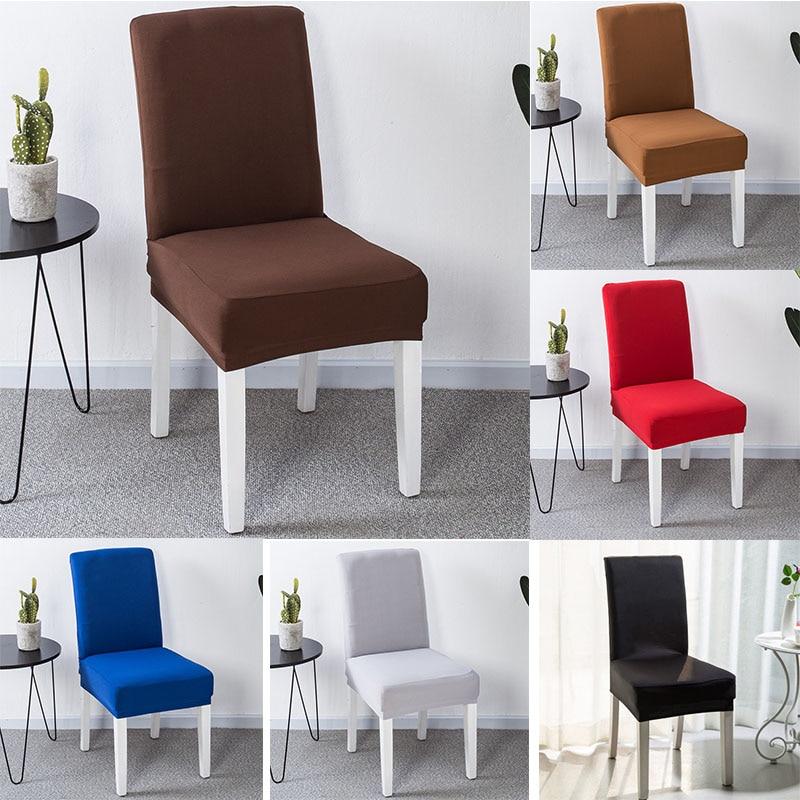Fundas elásticas de LICRA para SILLÍN, multicolores, elásticas, multifuncionales, fundas para decoración del hogar, muebles de comedor