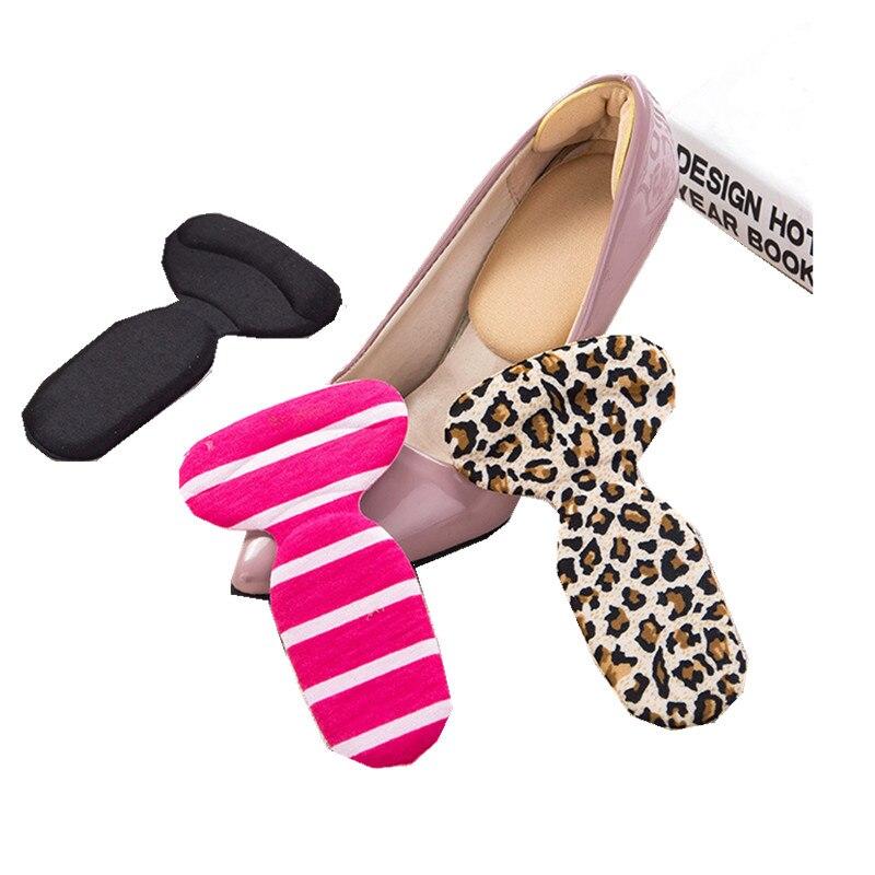 Nuevas almohadillas de Protector para el talón para mujer, a la moda, agarres de tacón alto, forro, soporte de arco, zapatos ortopédicos, plantillas de inserción