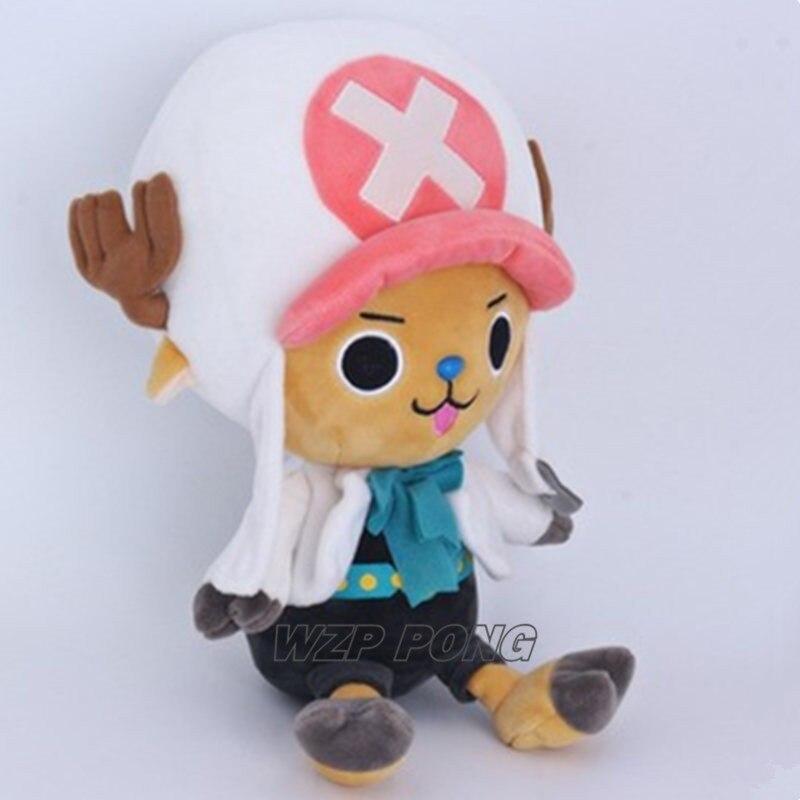 30cm High Quality Anime One Piece Tony Tony Chopper Stuffed Plush Toy Cute Animal Dolls Toys Children Christmas Birthday Gift