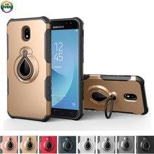 Samsung kılıfı Galaxy J5 Pro 2017 SM-J530F SM-J530FM SM-J530FM/DS Gömme Halka Durumda Telefon Kapak SM J530 J530FM J530FM/ DS Coque