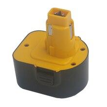 DVISI 12V 1500mAh batterie remplacement outils électriques batterie perceuse sans fil pour Dewalt DE9071 2802K DE9074 DE9075 DC740K ni-cd