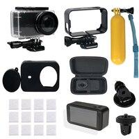 Набор аксессуаров для экшн-камеры Mijia Cam 9 в 1, водонепроницаемая рамка для крепления камеры до 45 м, для камеры xiaomi Mijia Mini 4K