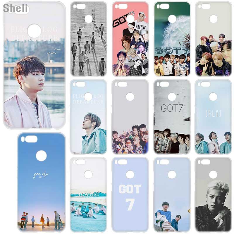 GOT7 Jackson JinYoung Caso silicone Suave para Xiaomi redmi 9a 8a 7a 6a 5a nota 9 8 7 6 Pro 8t 9s y3