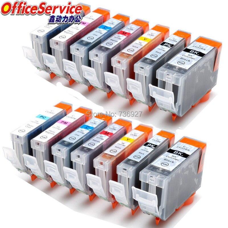 14PK Compatibele inkt Cartridge PGI-5 CLI-8 PGI5 PGI 5 Voor Canon PIXMA iP6600D iP6700D MP950 MP960 inkjet printer