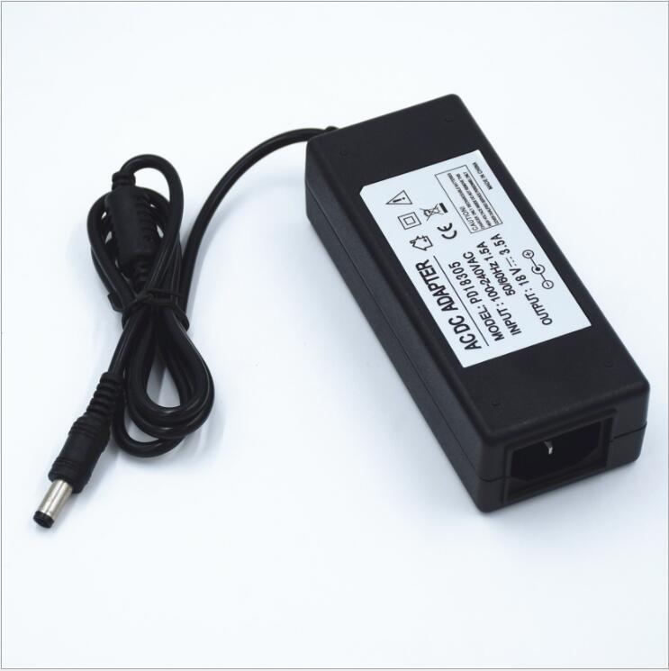 Импульсный источник питания 18 в 3,5a, адаптер питания 18 в 3,5a, сертифицированный CE, постоянный ток, FCC, Бесплатная доставка от производителя