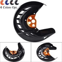 front brake disc guard for ktm 125 150 200 250 300 350 400 450 530 sx sxf xc xcf exc excf xcw xcfw 2003 2015 for husqvarna 14 15