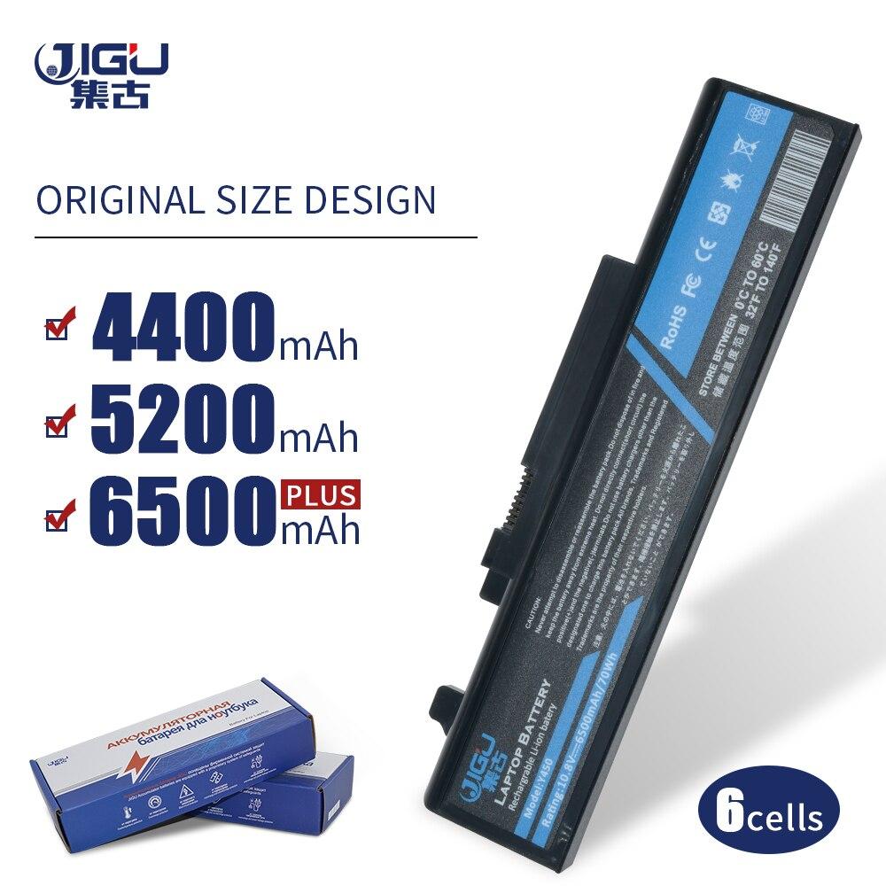 JIGU 6Cell 55Y2054 L08L6D13 L08O6D13 L08S6D13 batería del ordenador portátil para Lenovo IdeaPad Y450 20020 Y450 Y450A Y450G Y550