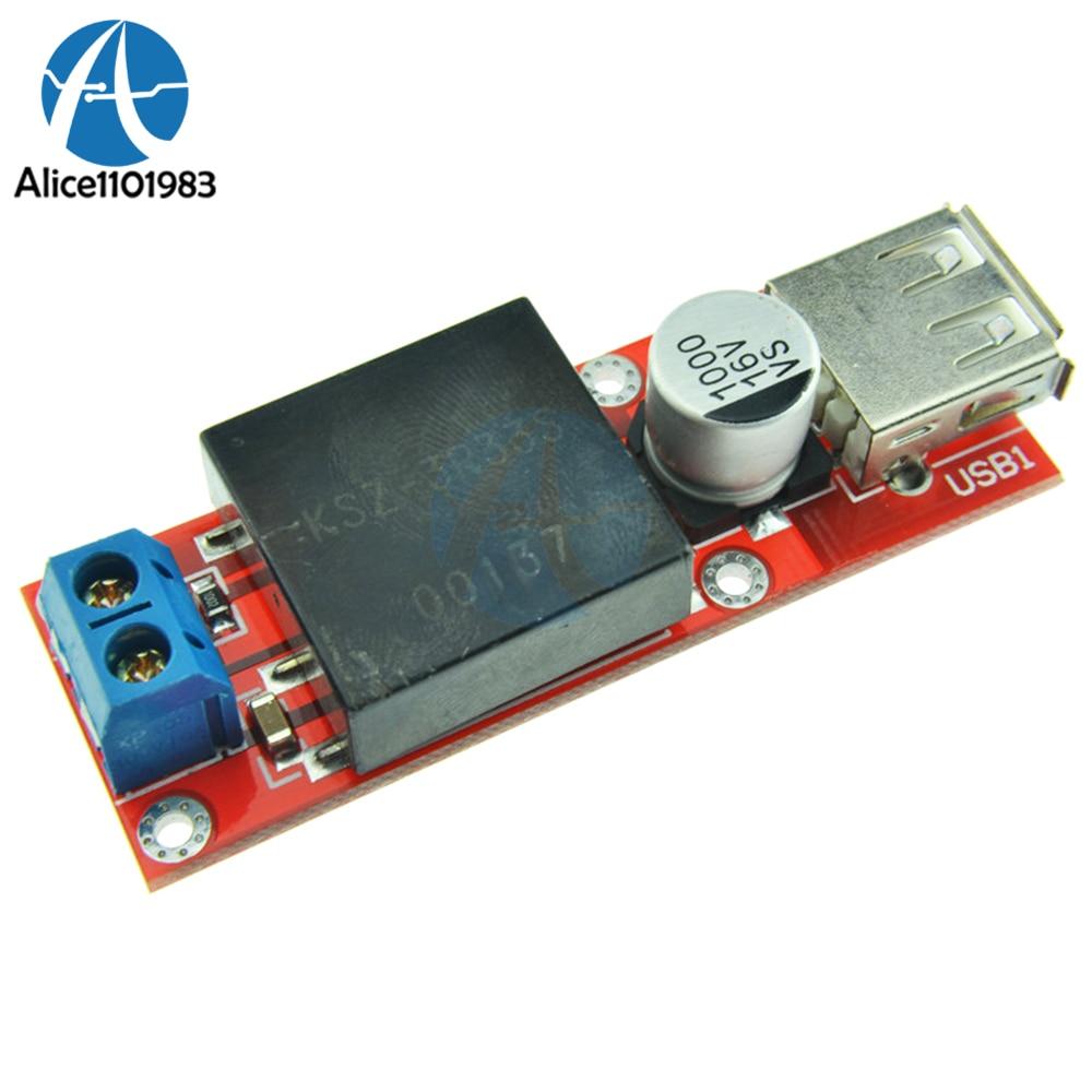 DC 7V-24V ~ 5V 3A 벅 KIS3R33S Arduino 비 절연 벅 과전류 보호 보드 용 스텝 다운 모듈보다 5V USB 340KHz