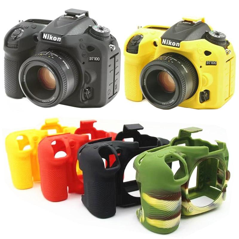 Высокое качество DSLR камера видео сумка Мягкий силиконовый резиновый защитный чехол для Nikon D750 D5500 D5600 D7200 D5300 D3400 D7500 Z7 Z6