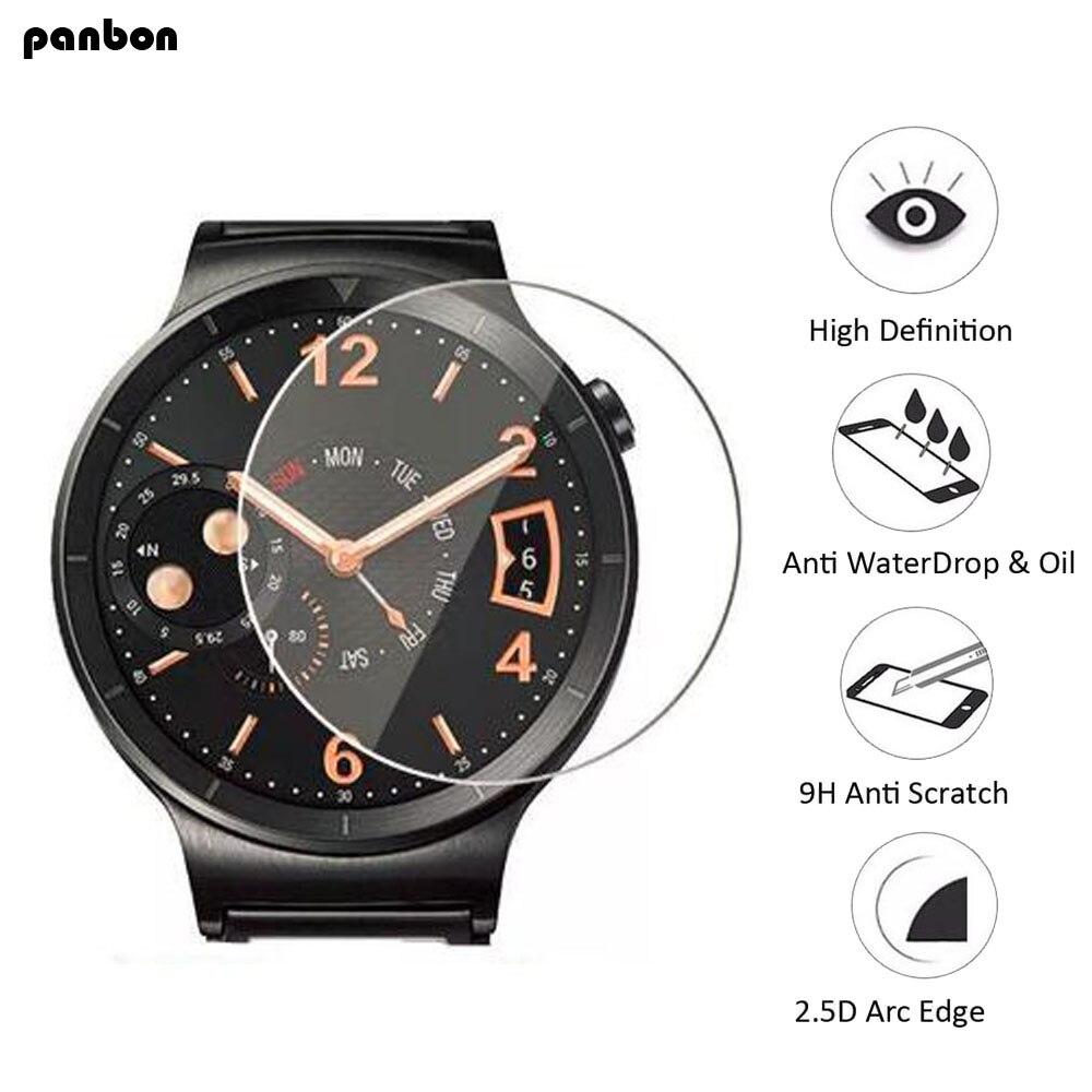 50 stks/partij Voor Universal Smart Horloge 31 32 33 34 35 36 37 38 39 40 41 42 MM Diameter algemene Screen Protector Film Gehard Glas