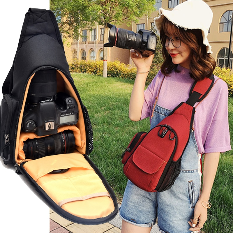 Waterproof Photo Backpack Camera Bag For Sony Canon EOS Nikon Panasonic Olympus Fujifilm Outdoor Travel Case Lens