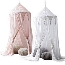 Cama dosel encaje mosquitera colgante tienda de juegos ropa de cama Domo cortinas de malla para niños DC156