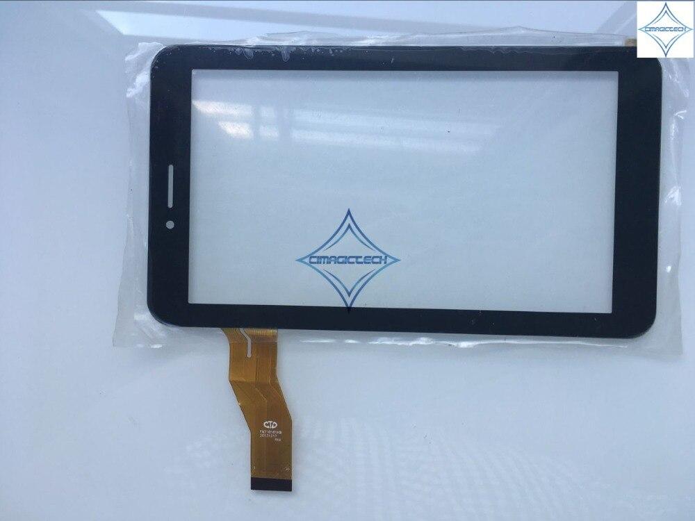 """Nuevo 7 """"pulgadas tablet táctil digitalizador de pantalla capacitiva panel Lente de Cristal de 3G TT7024MG CTD FM710301KA FM710101KB 186 * 105mm G + G"""