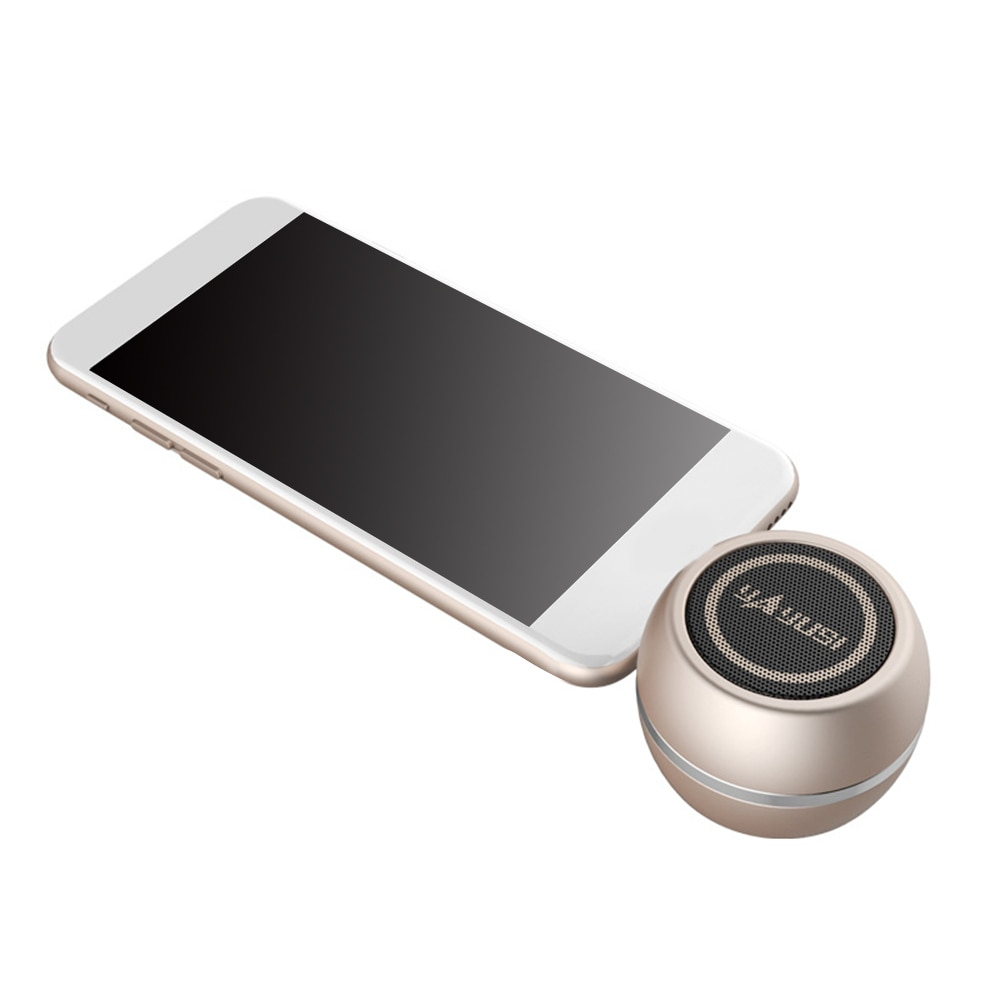 Portátil de alta fidelidade 3d surround 3.5mm aux áudio jack mini sem fio poderoso alto-falante cristal para iphone x xs xr xs max 8 7 6 s