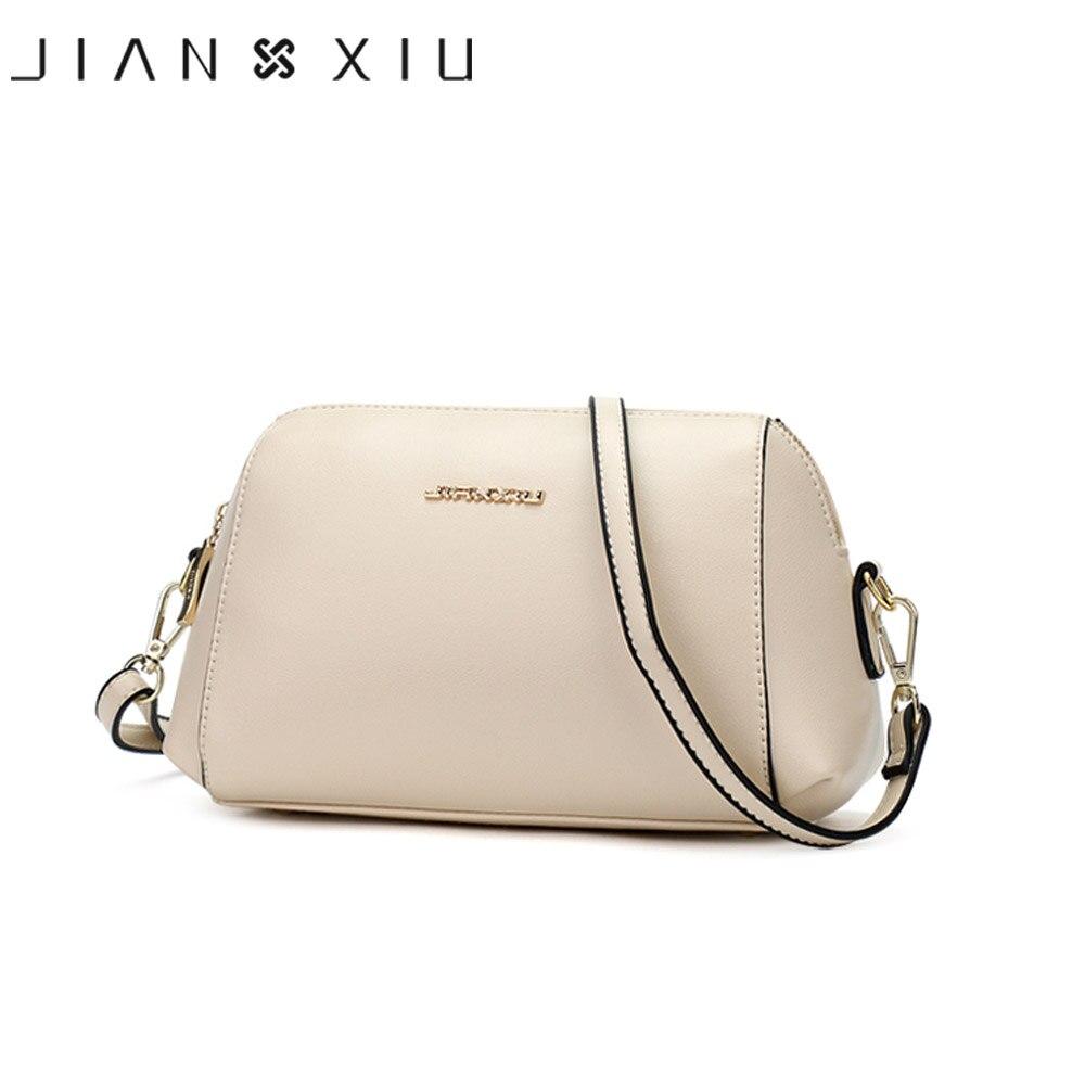 JIANXIU-حقيبة ساعي نسائية من الجلد المنقسمة ، حقيبة كتف ذات نوعية جيدة ، حقيبة حمل ، 2020