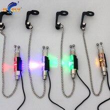 SW3-JY illuminé pêche Swinger chaîne échangeur carpe pêche indicateur 4 couleurs pour morsure alarme
