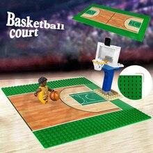 Высококачественная двухсторонняя опорная плита 32*32 точек для небольших кирпичей DIY строительное основание для блоков игрушка совместимый ...