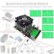 180 Вт регулируемый постоянный ток электронная нагрузка 18650 Батарея разрядка Емкость Тестер измеритель 12V24V48V свинцово-кислотный литиевый 20A