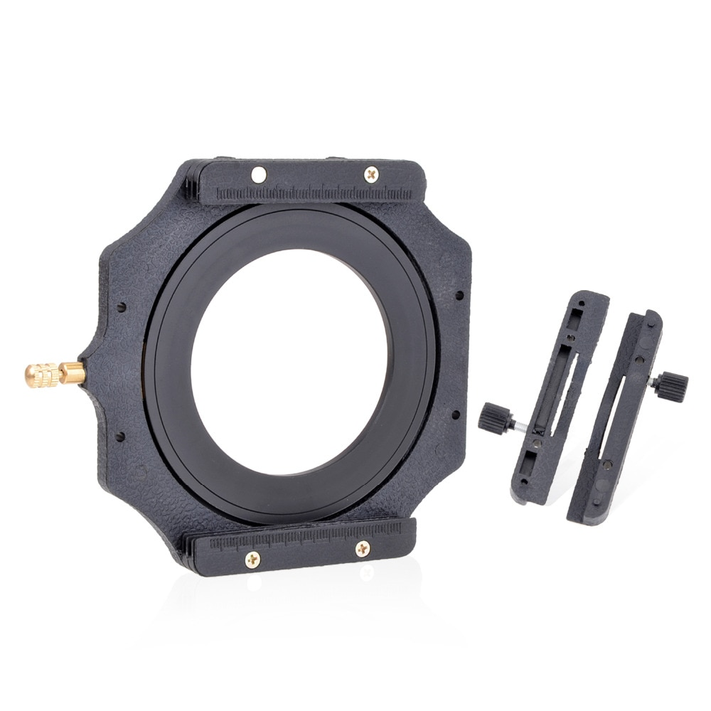 """Soporte de filtro de la serie Z cuadrada de 100mm + anillo adaptador de metal de 72mm para Lee Hitech singh-ray Cokin Z PRO 4X4 """"4x5"""" 5,65 4X """"filtro"""