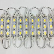 500 pcs/lot LED Module 5730 3 LED DC12V étanche publicité conception LED Modules Super lumineux éclairage en gros