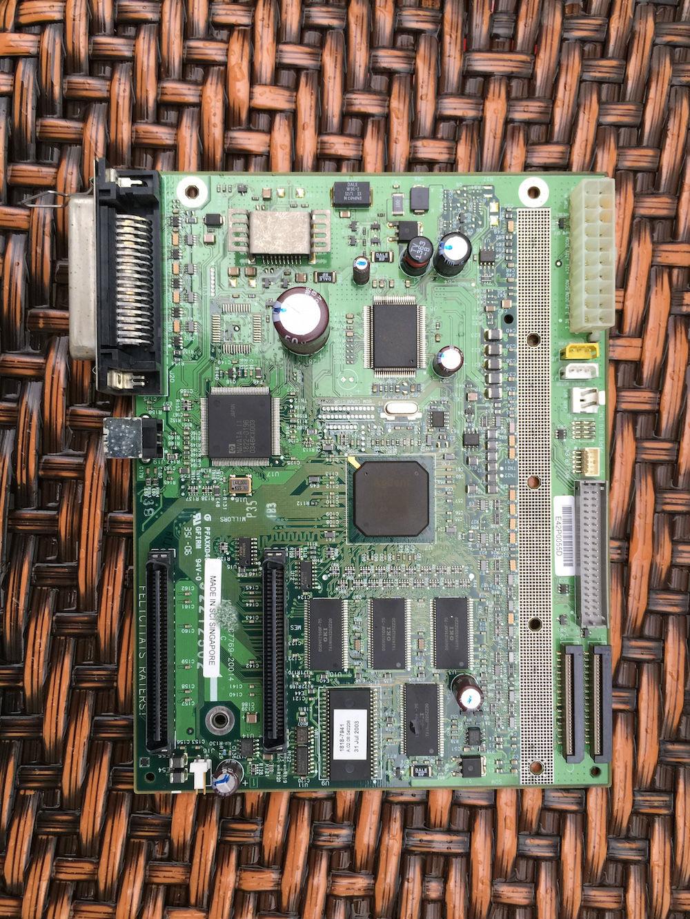"Placa del formateador de C7769 placa madre para HP DesignJet 500 A1 24 ""pulgadas de C7769-600014 impresora"