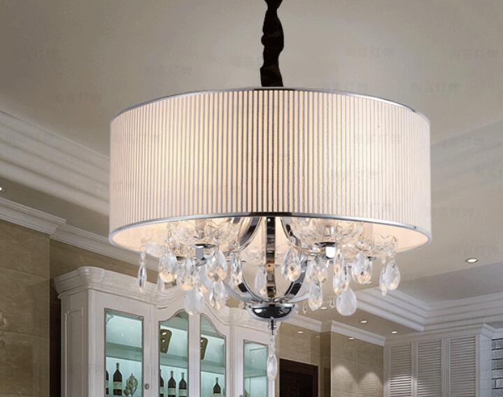 Crystal Bedroom modern minimalist restaurant Jane round warm LED crystal pendant light simple small living room lamps ZH FG440