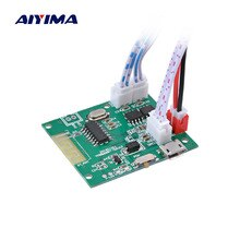 AIYIMA Mini 5.0 Bluetooth Modülü 5 W + 5 W Güç Amplifikatörler Ses Kurulu Amplificador DIY Bluetooth Bilgisayar hoparlör