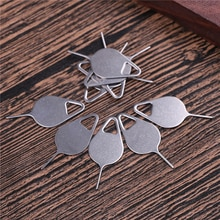 10pcs Sim Card Tray Removal Eject Pin Key Tool Stainless Steel Needle for iPhone iPad Samsung for Hu