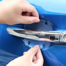 4pcs/set Door Handle Protective Film Sticker for VW Polo Jetta MK4 MK5 MK6 Golf 4 5 6 7 Passat CC Tiguan POLO Car Accessories