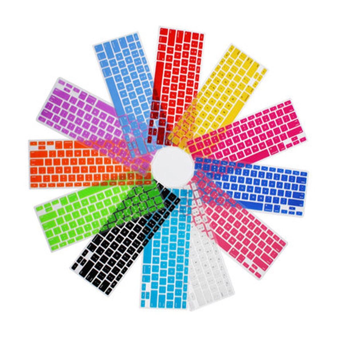 """Envío Gratis Jpan tipo japonés colorido silicona pegatina teclado cubierta piel protección para Mac 12 """"Macbook/12 macbook/macbook12"""