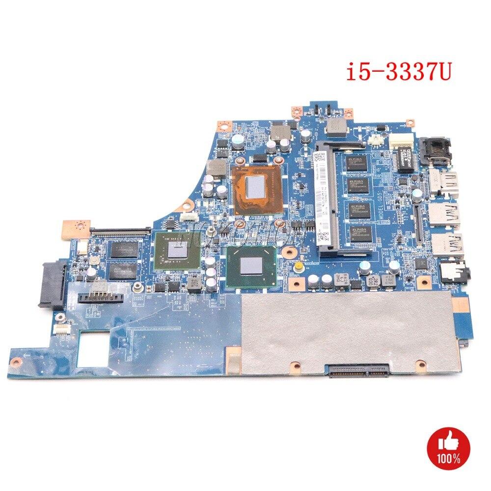 NOKOTION A1946133A DA0GD5MB8E0 GD5 placa base del ordenador portátil para Sony VAIO SVF14A i5-3337U 1,8 GHz tableros de trabajo principales