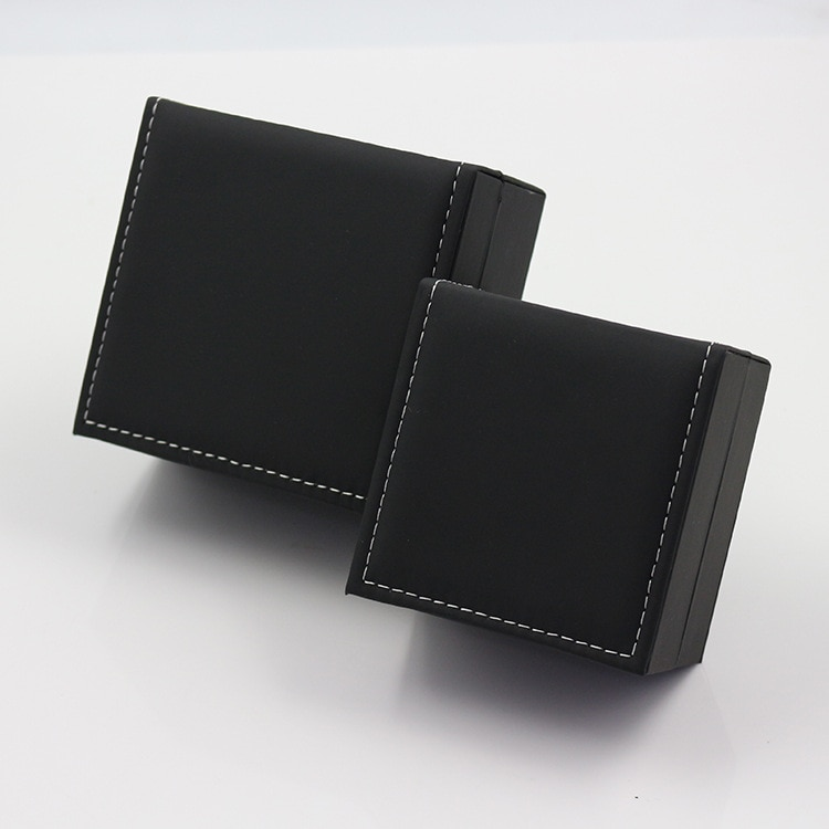 Fashion High Quality Bracelet Watch Box Faux Leather Square Jewelry Watch Case Display Gift Box with Pillow Cushion ice gray bracelet watch storage box display stand dust proof glass transparent watch box display props small pillow wholesale