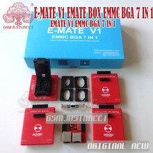 NEW MOORC E-MATE V1 SET Emate PRO box SET EMMC BGA 7 IN 1 SET Support 4 kinds of EMMC encapsulation Support 7 kinds of chips