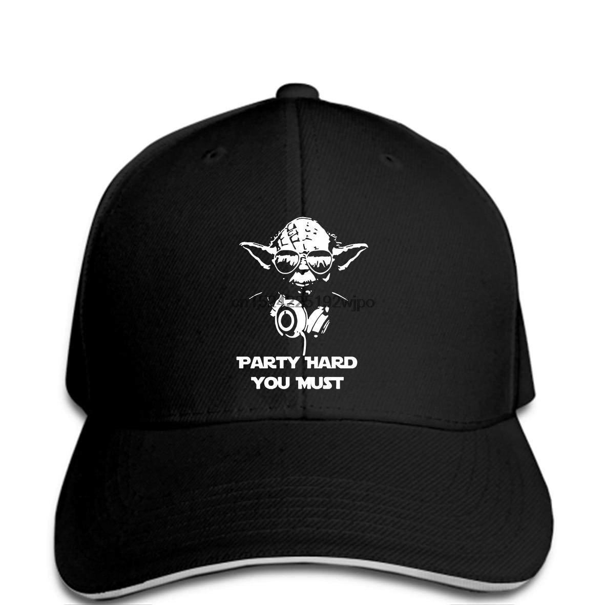 Divertido gorras de béisbol Happwan de moda es DJ Yoda de fiesta debe Jedi SithHumor Premium hombres tapa