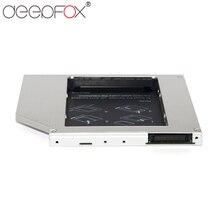 "DeepFox Aluminium 2nd HDD SSD caddy 9,5mm IDE Zu SATA Fall Für 2,5 ""Festplatte Fall Gehäuse Für HP DELL ACER"