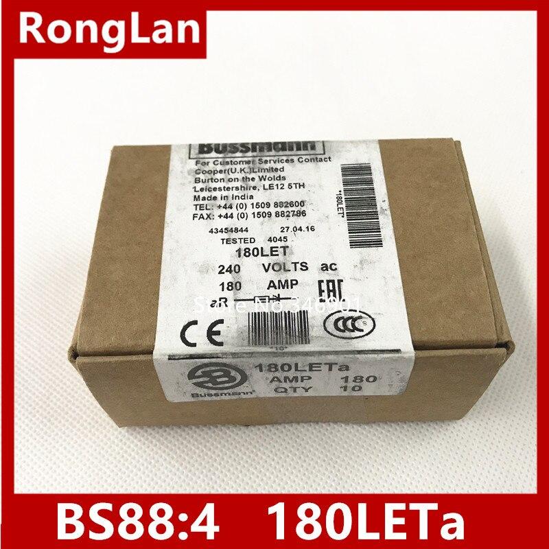 [SA]Original US BUSSMANN fusibles BS88 4 180 a 180 LETa 180A 240V fusible. 10 unids/lote