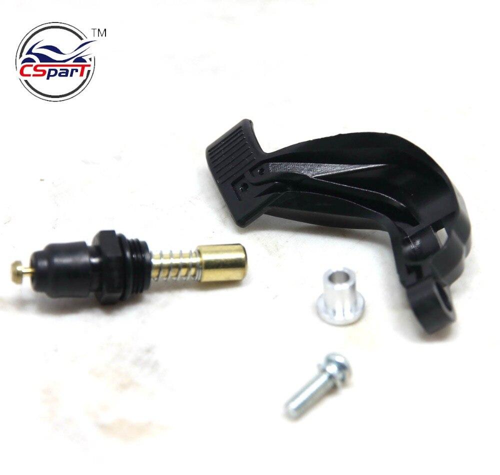Ajuste para carburador Keihin PWK PE24 28 30 32 34 conjunto de válvula de acelerador manija concentrada interruptor de control de válvula manual