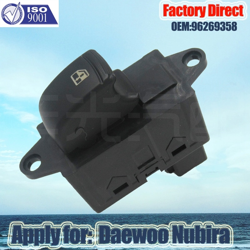 Factory Direct 6Pins Auto Power Window Switch New Master Window switch Apply for 1999 Daewoo Nubira 96269358 96190777