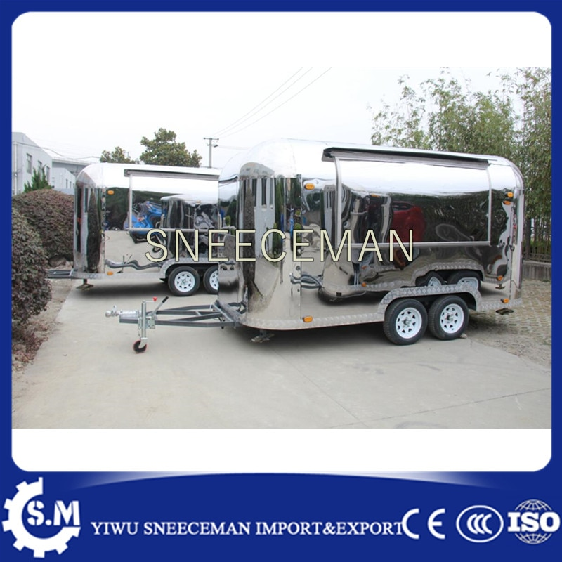CE mobile food tilt truck cleaning cart with wheels