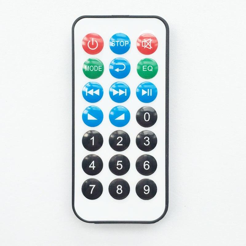 Пульт дистанционного управления с 21 клавишей, MP3 декодирующая плата, ИК-пульт управления, MP3 набор, ИК музыкальный плеер, ресивер (не универсальное использование)