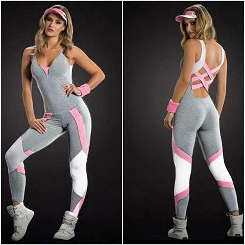Sujetador deportivo sin espalda, conjunto de vendaje para Yoga y Fitness, conjunto de ropa deportiva para mujer, chándales para mujer, ropa para gimnasio y Fitness