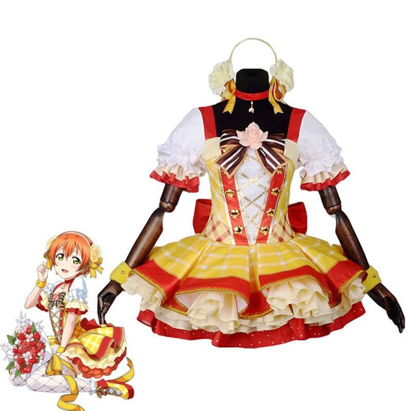 Amor. Ramo de flores Rin Hoshizora Awakening vestido Cosplay disfraz todas las tallas COSPLAYONSEN