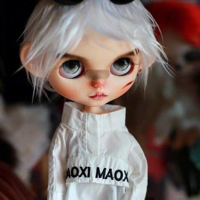 1/6 BJD 30 см кукла игрушки 19 шарнир высокое качество китайская Кукла BJD шариковая шарнирная кукла серебряные волосы крутая мальчик макияж кукл...