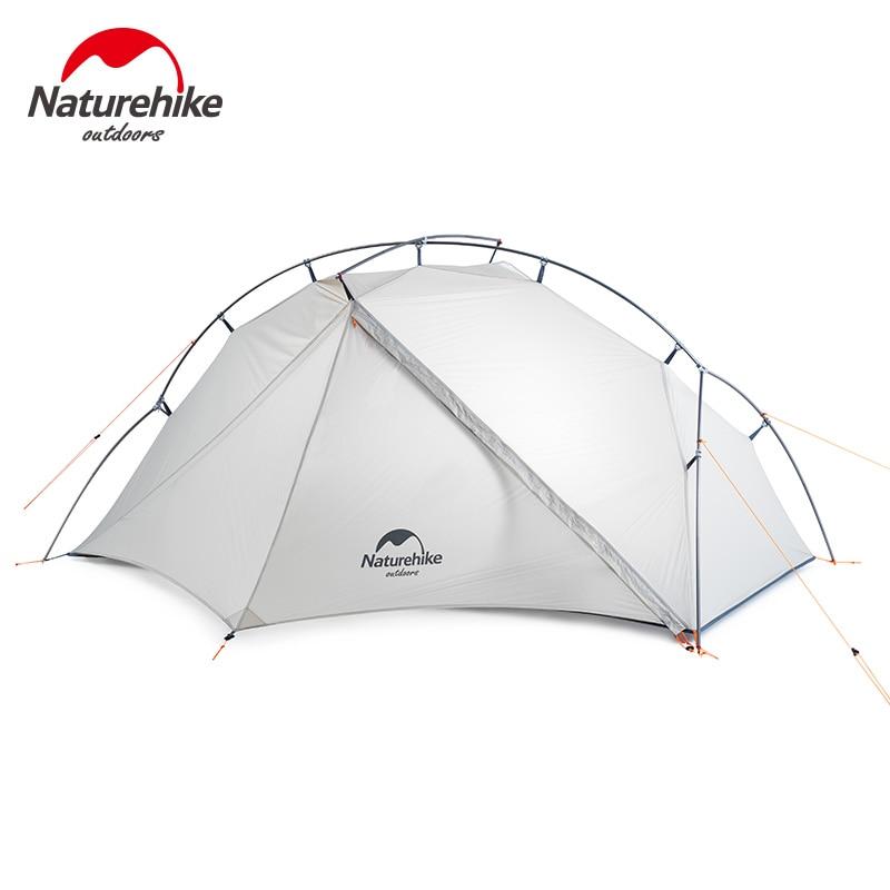 Naturehike VIK Serie наружная одноместная палатка ультра легкая 0,93 кг 15D нейлоновая палатка для кемпинга, туризма, снега, дождя, портативная палатка