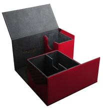 Leder Material Karte Lagerung Box Für Die Spiel König Array Duel Kapazität 180 Blätter MTG Karte Box magic card box magic theleather leather -